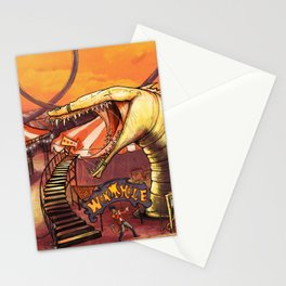 Ride the Wormhole Stationery Cards