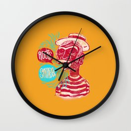 Roots Samba Wall Clock