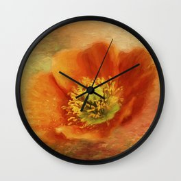 Blazing Wall Clock