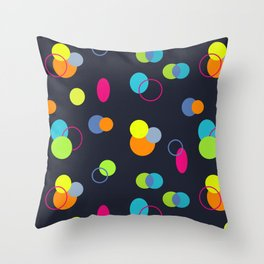 Candies Pattern Throw Pillow