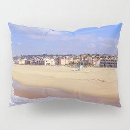 Hermosa Beach California Pillow Sham