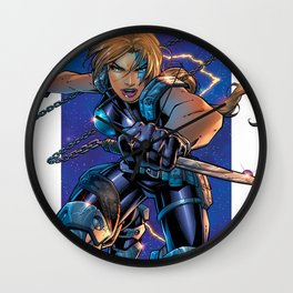 10th Muse by Andy Park Wall Clock