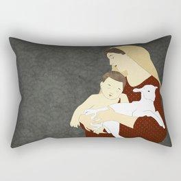 Virgin Mary Rectangular Pillow