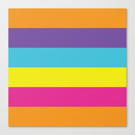 Gender Non-Binary Pride Canvas Print