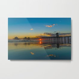 The Sky in the Sand Metal Print