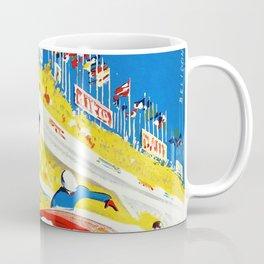 Vintage 1959 le Mans Poster Coffee Mug