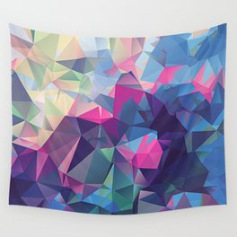 Polygonal Art with Triangles Vol 2 Wall Tapestry