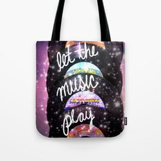 Let the Music Play Tote Bag
