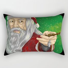 Gan santa dalf claus Rectangular Pillow