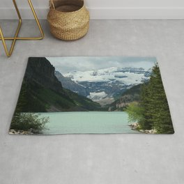 Peaceful Lake Louise Rug