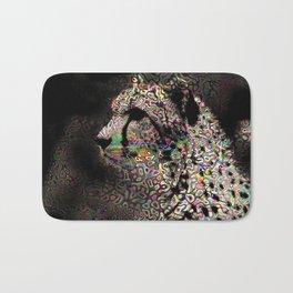 Abstract Animal - Cheetah Bath Mat