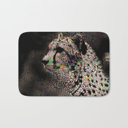 Abstract Animal - Cheetah Bath Mat