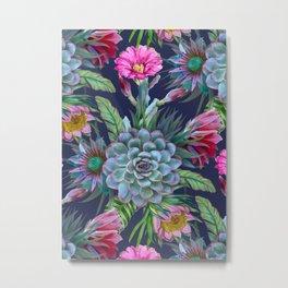 Exotic flower garden II Metal Print