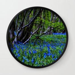BLUE GLADE Wall Clock