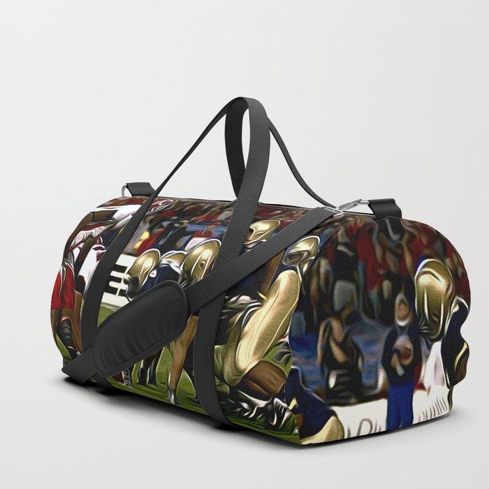 Amerika Football Duffle Bag