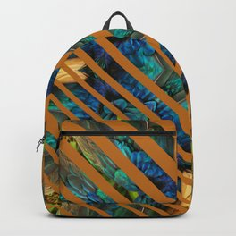 STRIPED FEATHERS - SIENNA Backpack