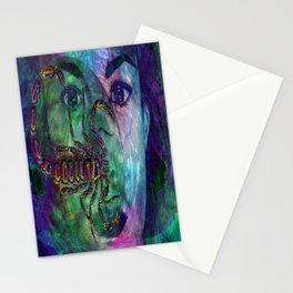 Unconscious Existence Stationery Cards
