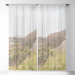 A Beautiful Day Sheer Curtain