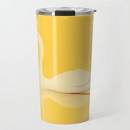 Swan Gliding Beauty Travel Mug