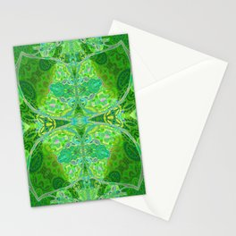 Vintage Dream of Green Stationery Cards