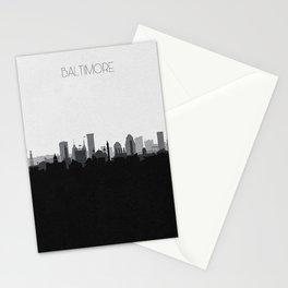 City Skylines: Baltimore (Alternative) Stationery Cards