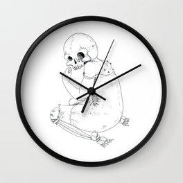 Nightmare death Wall Clock