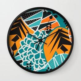 Leaf tropicana Wall Clock