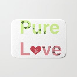 Puppy Love Bath Mat