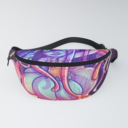 Jelly Space Fanny Pack