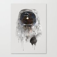 astronaut Canvas Prints featuring Astronaut by Daniel Taylor