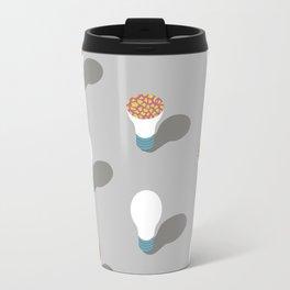 simple pattern of light Travel Mug
