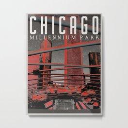 Chicago: Millennium Park Metal Print