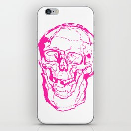 Death Laughs In Your Face iPhone Skin