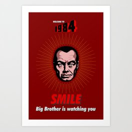 Welcome to 1984 Art Print