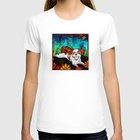 shih tzu T-shirts featuring Shih Tzu by RobiniArt