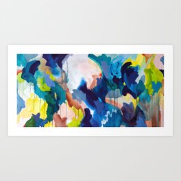 Cooling Abstract Art Print