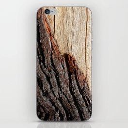 Wood Duo iPhone Skin