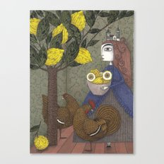 The Lemon Picker Canvas Print