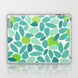 Mid Century Lime Tree Laptop & iPad Skin