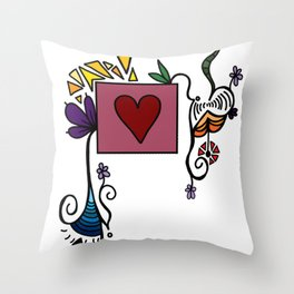 Love Grows, Baby Throw Pillow