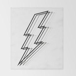Lightning Bolt Throw Blanket