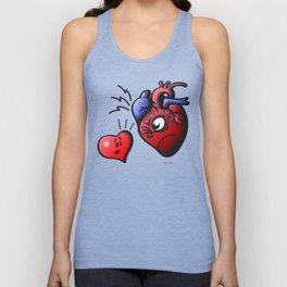 Heart vs Heart Unisex Tank Top