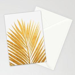 Golden leaf III Stationery Cards