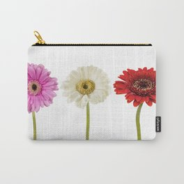 Three gerberas Carry-All Pouch