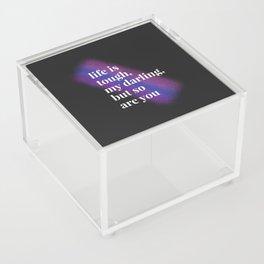 Tough Darling Acrylic Box