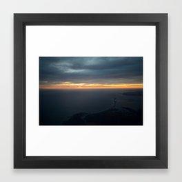 Cape Cod Aerial Framed Art Print