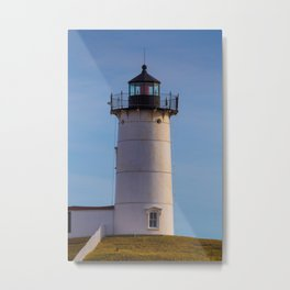 Cape Neddick Nubble Lighthouse York Maine Metal Print