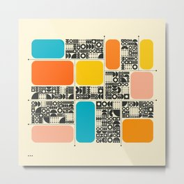 SYSTEMS (22) Metal Print