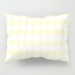 Rhombus (Cream/White) Pillow Sham