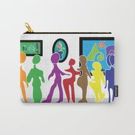 Puzzled People Carry-All Pouch
